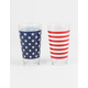2 Pack Americana Pint Glasses