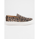 STEVE MADDEN Gills Leopard Suede Womens Shoes