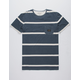 QUIKSILVER New Maxed Mens Pocket Tee