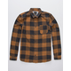 QUIKSILVER Motherly Mens Flannel Shirt