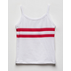 FULL TILT Dual Stripe Girls Tank Top