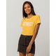 VOLCOM Everyday Yellow Womens Tee