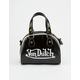 VON DUTCH Bowling Bag Purse