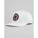 KEY STREET Panther White Mens Snapback Hat