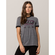 FOX First Placed Grey Womens Ringer Tee