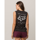 FOX Check Yourself Womens Muscle Tank Top