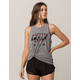 FOX First Placed Airline Womens Muscle Tank Top