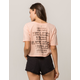BILLABONG For Shore Womens Crop Tee
