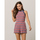 RVCA Stripe Womens Romper