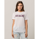 FOX 4 Ever White Womens Boyfriend Tee