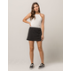 IVY & MAIN Windowpane Mini Skirt