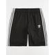 ADIDAS 3 Stripes Black Mens Sweat Shorts