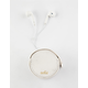 ANKIT Marble Earbuds & Carrying Case