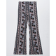 WHITE FAWN Pineapple Girls Flare Pants