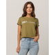 BILLABONG Logo Green Womens Tee