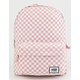 VANS Realm Classic Pink Checker Backpack