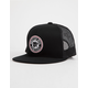 BRIXTON Forte Black Mens Trucker Hat