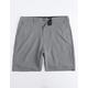 BILLABONG Surftrek Gray Mens Hybrid Shorts