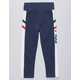 FILA Heritage Navy Girls Crop Leggings
