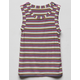 FULL TILT Ribbed Stripe Girls Tank Top