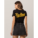 YOUNG & RECKLESS Graffiti Womens Crop Tee