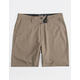 BILLABONG Surftrek Dark Khaki Mens Hybrid Shorts
