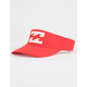 BILLABONG Red Visor