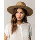 BRIXTON Joanna Natural Womens Straw Hat