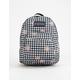 JANSPORT Half Pint Gingham Daisy Mini Backpack