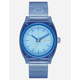 NIXON Time Teller P Blue Watch