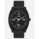 NIXON Time Teller P Corp Matte Black & White Watch
