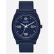 NIXON Time Teller P Corp Matte Navy & White Watch