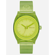 NIXON Time Teller P Green Watch