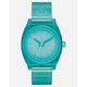 NIXON Time Teller P Turquoise Watch