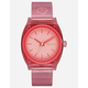 NIXON Time Teller P Coral Watch