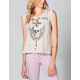 FULL TILT Rock To The Rose Womens Tee