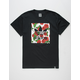 ADIDAS Print Rose Blackbird Mens T-Shirt