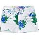 HIPPIE LAUNDRY Tropical Girls Denim Cutoff Shorts