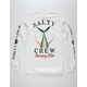 SALTY CREW Tailed White Mens T-Shirt