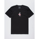 RIOT SOCIETY Kanji Embroidery Mens T-Shirt