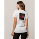 THE NORTH FACE Red Box White Womens Tee