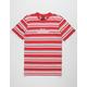 HUF Malibu Stripe Mens T-Shirt