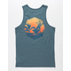 REEF Sunset Mens Tank