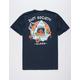RIOT SOCIETY Shark Aloha Mens T-Shirt