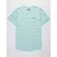 BROOKLYN CLOTH Donut Stripe Mens T-Shirt