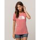 THE NORTH FACE Half Dome Rose Womens Tee