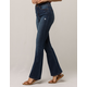 IVY & MAIN High Waisted Womens Flare Jeans