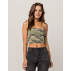 SKY AND SPARROW Camo Womens Tube Top