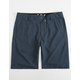 FOX Essex Tech Navy Mens Hybrid Shorts