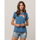 THE NORTH FACE Half Dome Blue Womens Tee